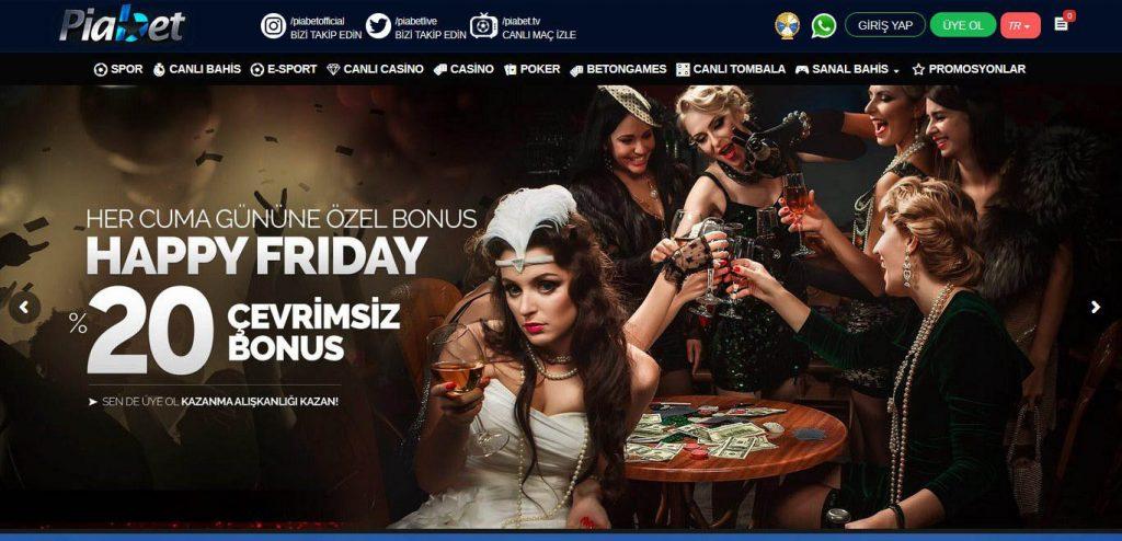 Piabet Yabanci Casino Sitesi